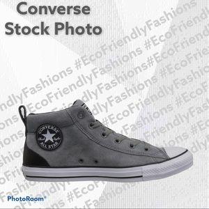 Converse C T Street Mid Varsity Jacket Sneakers